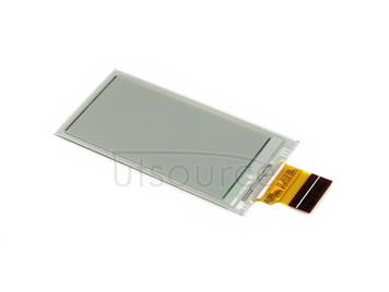 212x104, 2.13inch E-Ink raw display panel, yellow/black/white three-color