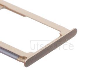 OEM SIM + SD Card Tray for Huawei Mate 8 Mocha Brown