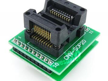 SOP20 TO DIP20, Programmer Adapter