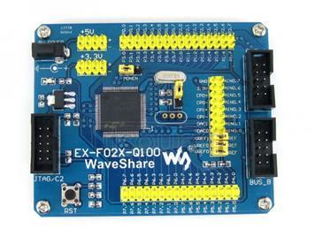 EX-F02x-Q100 Standard, C8051F Development Board
