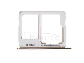 OEM SIM + SD Card Tray for Samsung Galaxy A9(2016) Champagne Gold