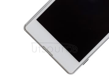 OEM LCD Screen Assembly Replacement for Sony Xperia M5 White