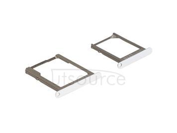 OEM SIM + SD Card Tray for Samsung Galaxy A7 SM-A700 White