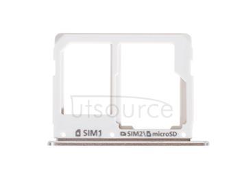 OEM SIM + SD Card Tray for Samsung Galaxy A9(2016) Pearl White