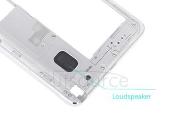 OEM Mid-frame Assembly  for Samsung Galaxy Note 4 SM-N910V White