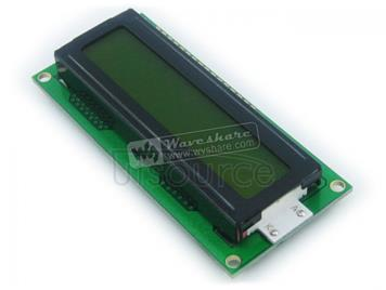 LCD1602 (5V Yellow Backlight)