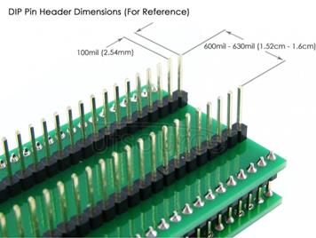 QFP32 TO DIP32, Programmer Adapter