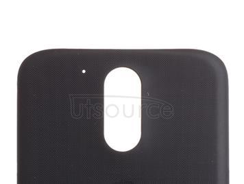 Custom Battery Cover for Motorola Moto G4 Plus Black