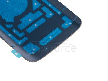 OEM Back Cover for Motorola Droid Turbo 2 XT1585 Genuine Pebbled Leather Natural