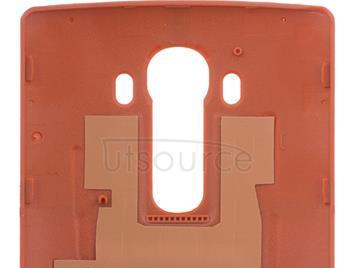 Custom Leather Battery Cover for LG G4 Orange