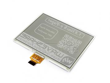 600x448, 5.83inch E-Ink raw display