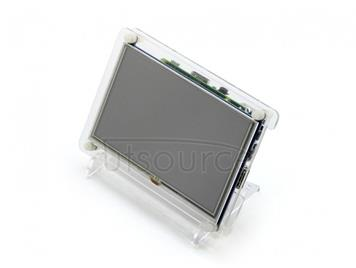Clear Case for 5inch LCD Type B