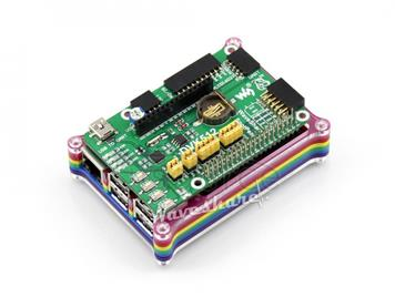 Raspberry Pi 3 Model B with Rainbow Case