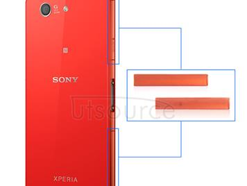 OEM Micro SD + SIM + USB Port Cover Flap Replacement for Sony Xperia Z3 Compact Orange