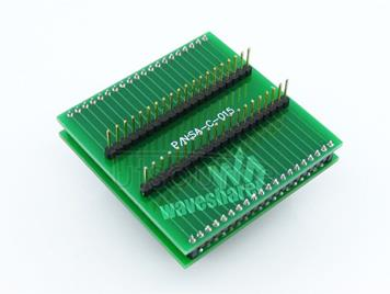 8051 QFP44 TO DIP40 Programming Adapter