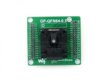 GP-QFN64-0.5-B, Programmer Adapter
