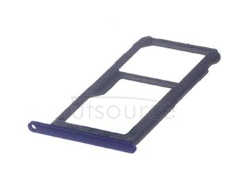 OEM SIM + SD Card Tray for Huawei Mate 20 Lite Sapphire Blue