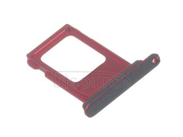 OEM Dual SIM Card Tray for iPhone XR Red