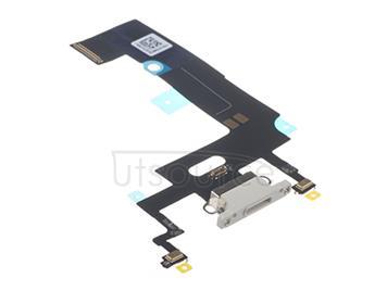 OEM Charging Port Flex for iPhone XR White