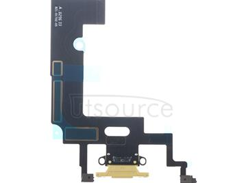 OEM Charging Port Flex for iPhone XR Yellow