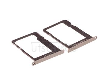 OEM SIM + SD Card Tray for Huawei Ascend Mate7 Amber Gold