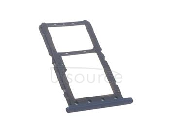 OEM SIM + SD Card Tray for Xiaomi Pocophone F1 Steel Blue