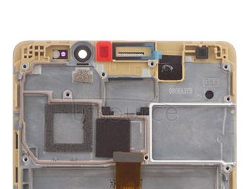 OEM LCD Screen Assembly Replacement for Huawei Mate 8 Champagne Gold