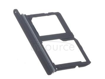 OEM SIM + SD Card Tray for LG Q7 (Q710) Aurora Black