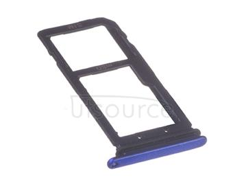 OEM SIM + SD Card Tray for HTC U11 Life Sapphire Blue