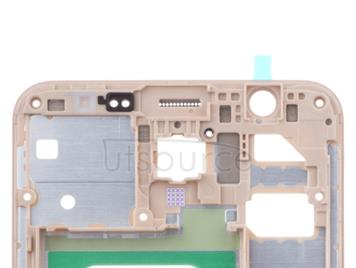 OEM LCD Supporting Frame for Samsung Galaxy J7 Prime Gold