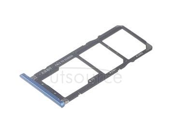 OEM Dual SIM + SD Card Tray for Xiaomi Redmi S2 Mesmerising Blue
