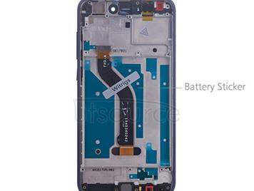 Custom Screen Replacement with Frame for Huawei Honor 8 Lite Blue