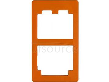 UV Glue LOCA Alignment Mould LCD Outer Glass Mold for Samsung Galaxy S4 Orange