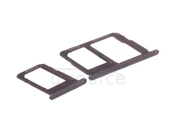 OEM SIM + SD Card Tray for Samsung Galaxy On5 Black