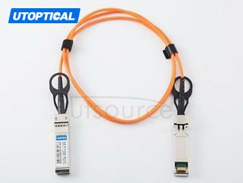 2m(6.56ft) Dell Force10 CBL-10GSFP-AOC-2M Compatible 10G SFP+ to SFP+ Active Optical Cable