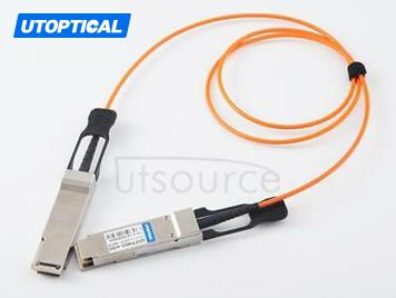 2m(6.56ft) H3C QSFP-40G-D-AOC-2M Compatible 40G QSFP+ to QSFP+ Active Optical Cable