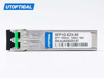SMC SMC1GSFP-ZX Compatible SFP1G-EZX-55 1550nm 100km DOM Transceiver