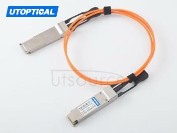 15m(49.21ft) Juniper JNP-40G-AOC-15M  Compatible 40G QSFP+ to QSFP+ Active Optical Cable