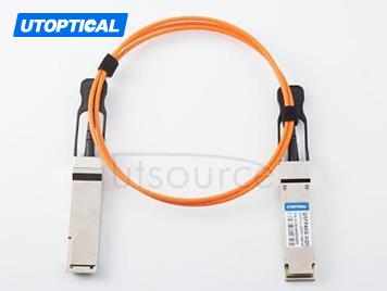 7m(22.97ft) Brocade 40G-QSFP-QSFP-AOC-0701 Compatible 40G QSFP+ to QSFP+ Active Optical Cable
