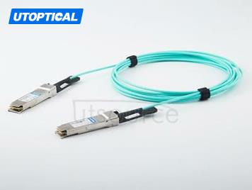 25m(82.02ft) Dell AOC-QSFP28-100G-25M Compatible 100G QSFP28 to QSFP28 Active Optical Cable