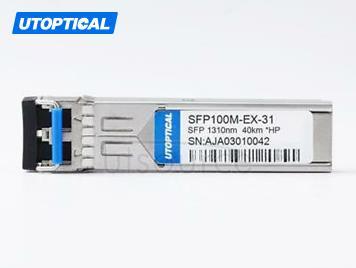 HPE JD090A Compatible 100BASE SFP100M-EX-31 1310nm 40km DOM Transceiver