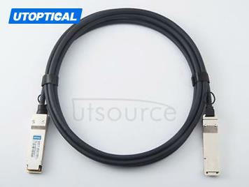0.5m(1.6ft) Dell Force10 CBL-QSFP-40GE-PASS-0.5M Compatible 40G QSFP+ to QSFP+ Passive Direct Attach Copper Twinax Cable