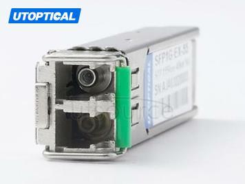 Cisco GLC-EZX-SM-120 Compatible SFP1G-EZX-55 1550nm 120km DOM Transceiver