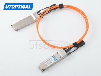 5m(16.4ft) Extreme Networks 40GB-F05-QSFP Compatible 40G QSFP+ to QSFP+ Active Optical Cable