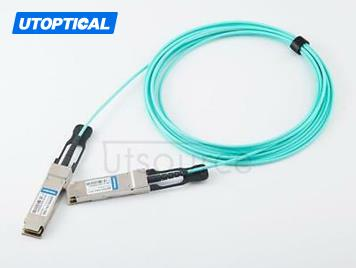 3m(9.84ft) Utoptical Compatible 100G QSFP28 to QSFP28 Active Optical Cable