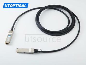 1m(3.28ft) Alcatel-Lucent QSFP-40G-C1M Compatible 40G QSFP+ to QSFP+ Passive Direct Attach Copper Twinax Cable