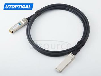 2m(6.56ft) Brocade 100G-Q28-Q28-C-0201 Compatible 100G QSFP28 to QSFP28 Passive Direct Attach Copper Twinax Cable