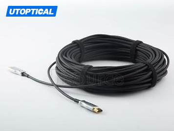 UTOPTICAL  HDMI Fiber Cable 100 feet Light High Speed Support 18.2 Gbps 4K at 60Hz HDMI 2.0 ,  Flexible With Optic Technology 30m