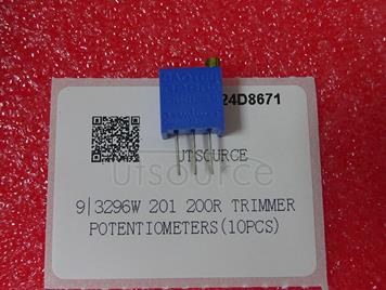 3296W 201 200R Trimmer Potentiometers(10pcs)