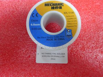 MECHANIC fine solder wireHX-100(small) 0.8 [55G]